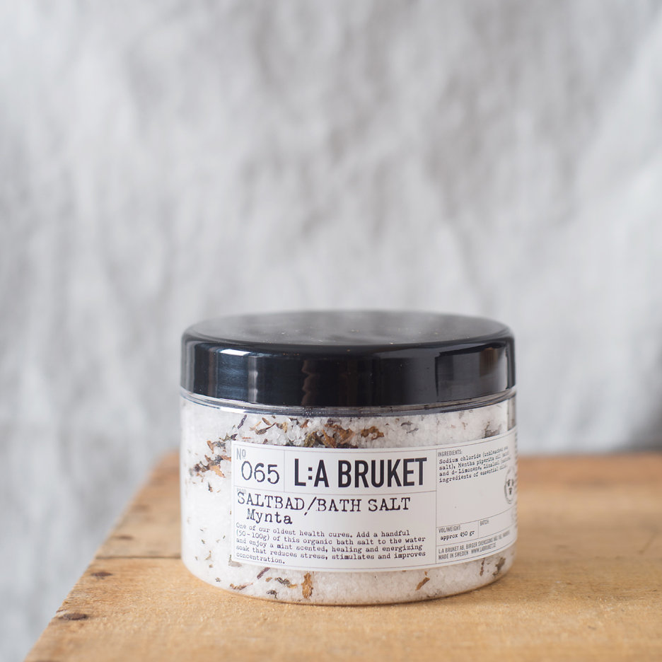 LA Bruket Bath Salts, Mint