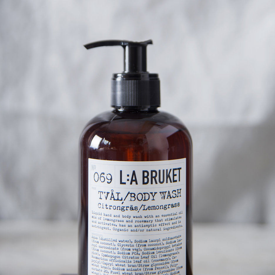 LA Bruket Hand & Body Wash, Lemongrass