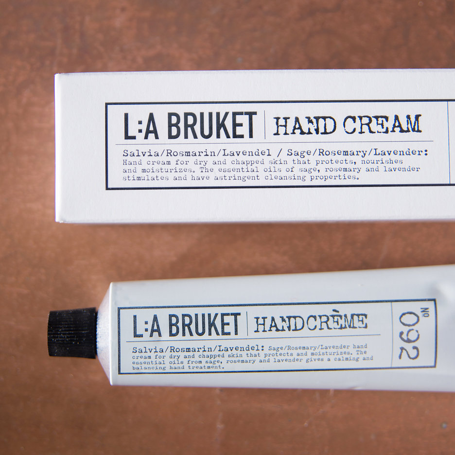 LA Bruket Hand Cream Sage, Rosemary, Lavender
