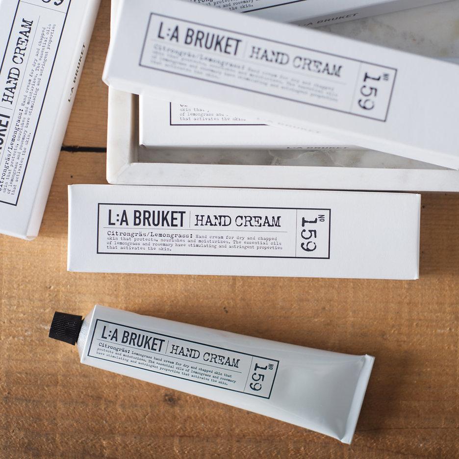 LA Bruket Hand Cream Lemongrass