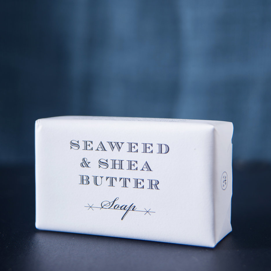 Seaweed & Shea Butter soap, Plum & Ashby
