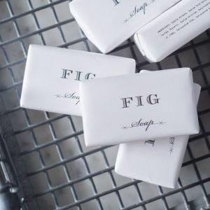 Fig soap, Plum & Ashby