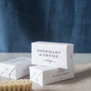 Rosemary & Thyme soap, Plum & Ashby