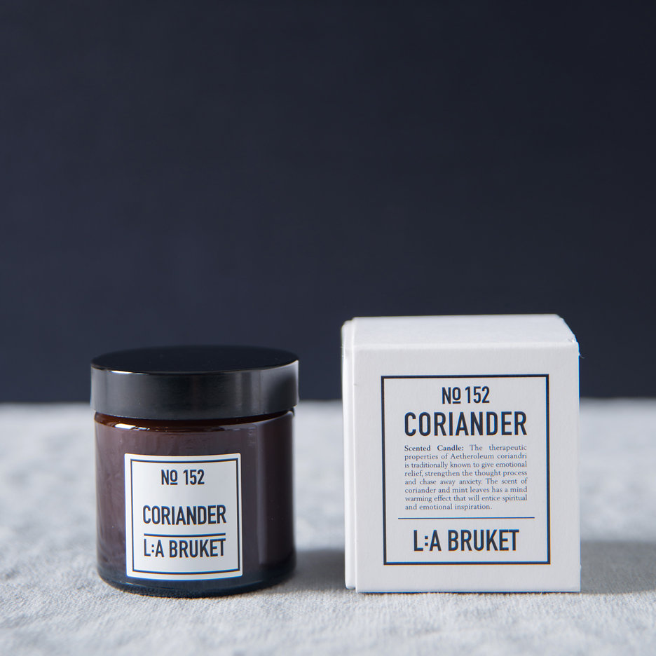 LA Bruket Coriander candle