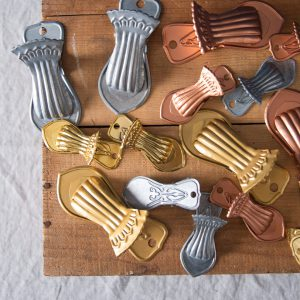 Jolly useful clips gold copper and zinc