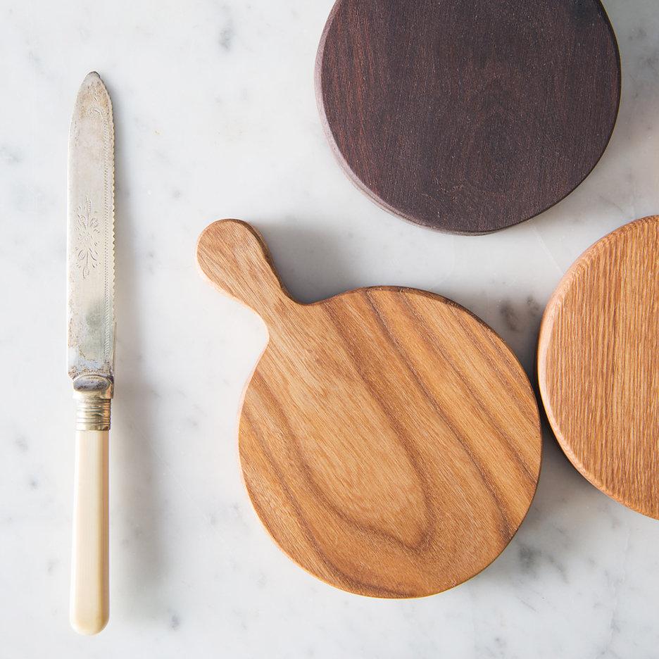 Mini round chopping boards