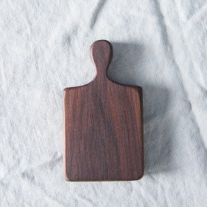 Mini walnut oblong chopping board