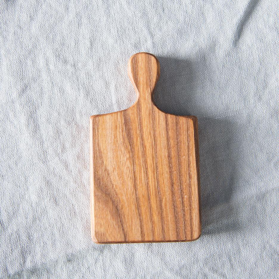 Mini elm oblong chopping board