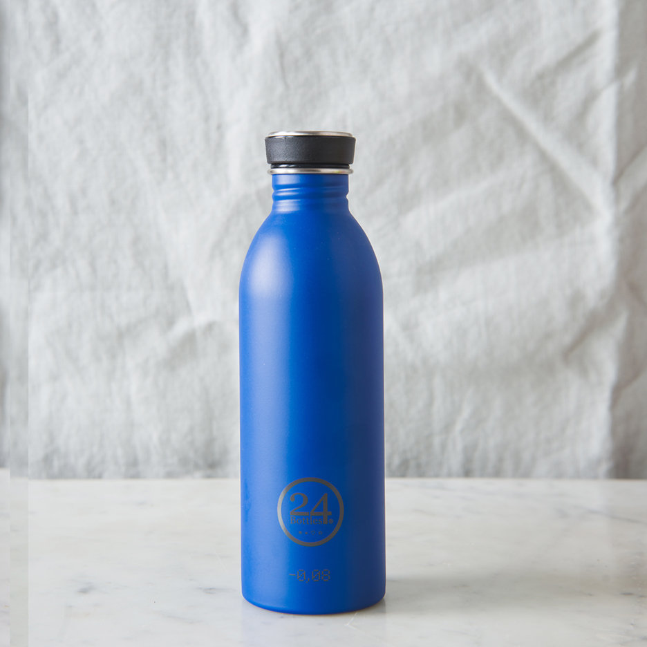 Stainless steel urban water bottle cobalt blue