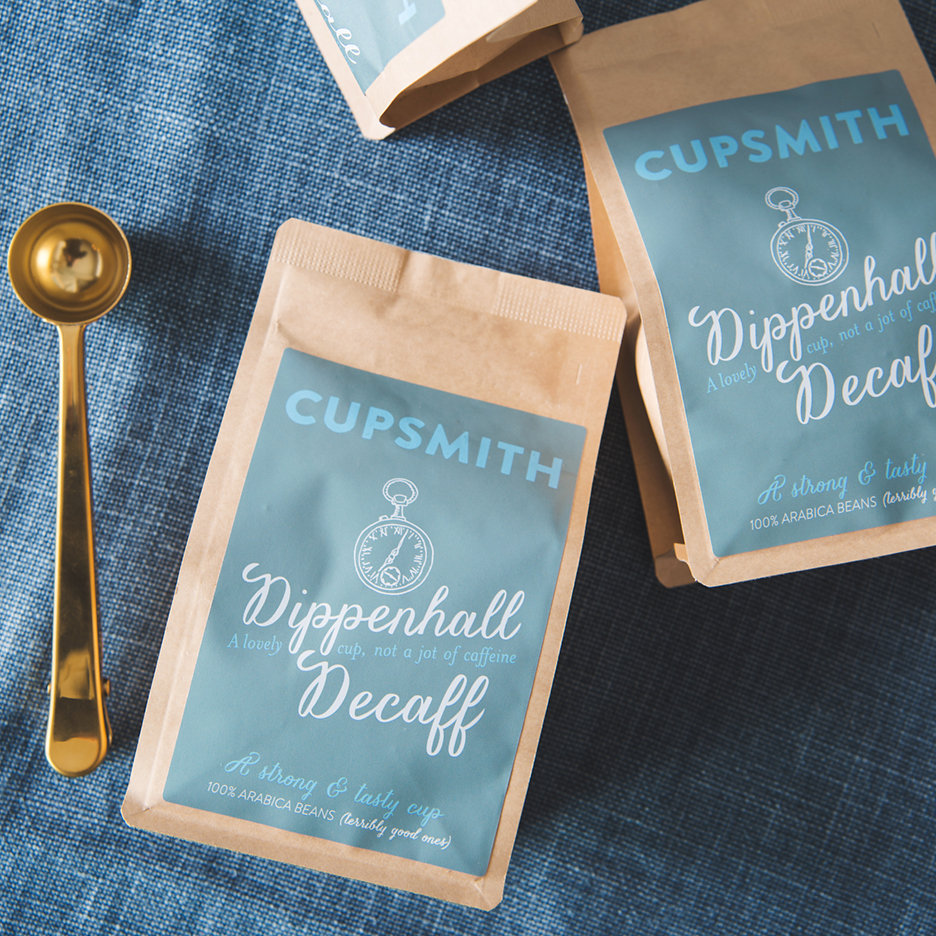 Cupsmith Dippenhall decaff coffee