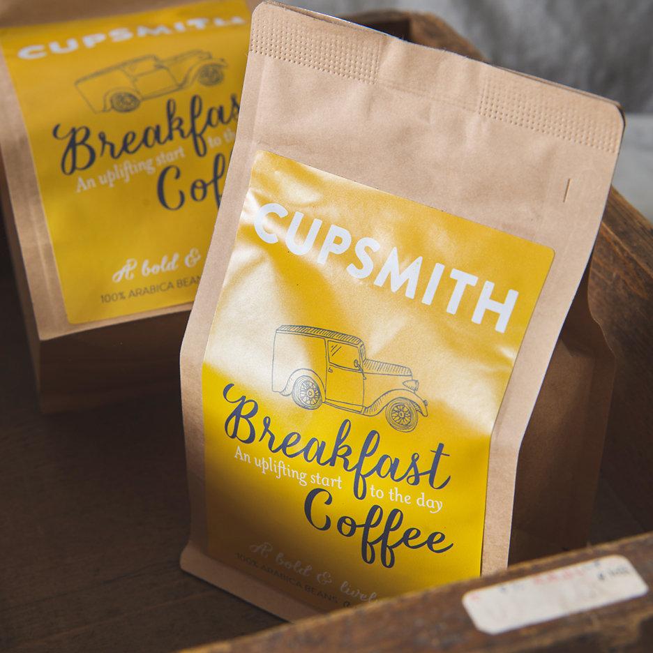 Cupsmith breakfast coffee