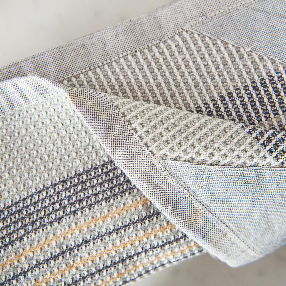 Manly man cloth apron straw grey