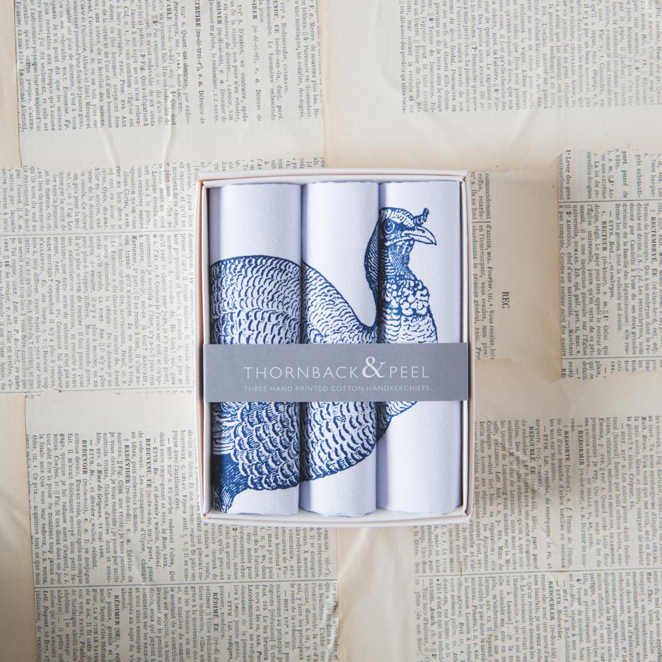 Turkey handkerchiefs Thornback & Peel