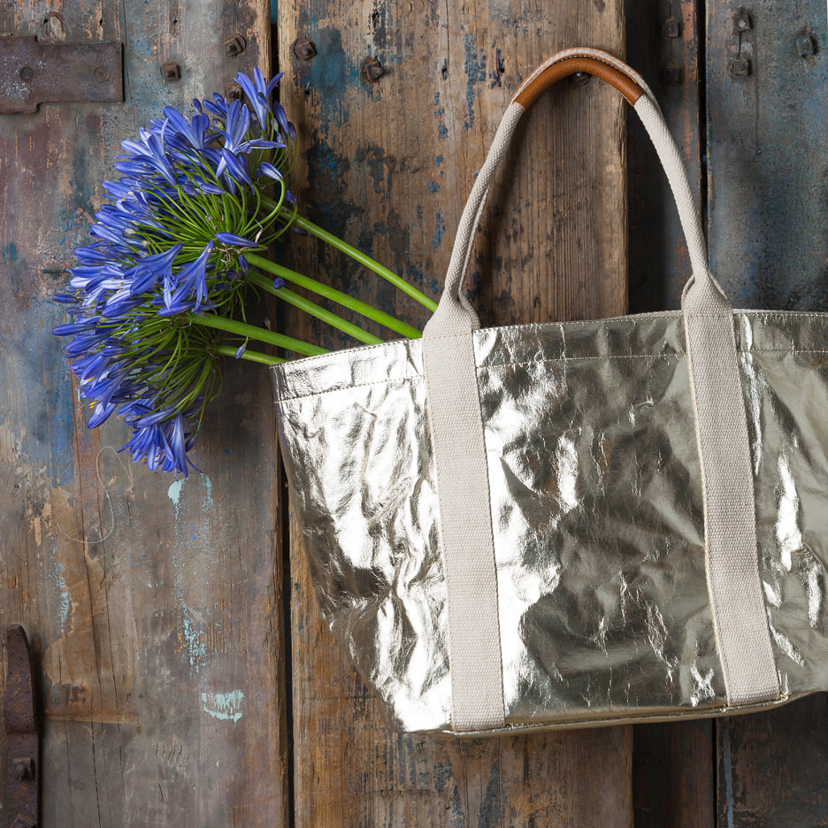 Metallic tote bag Uashmama