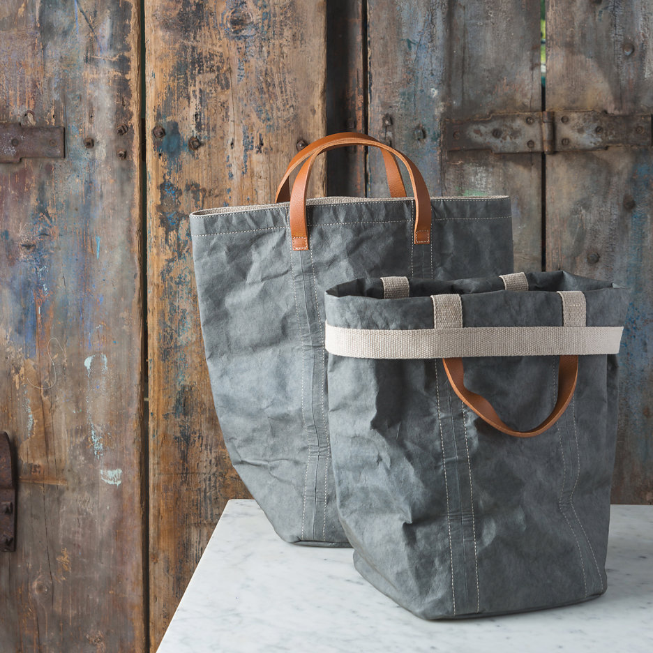 Charcoal grey shopper bag Uashmama