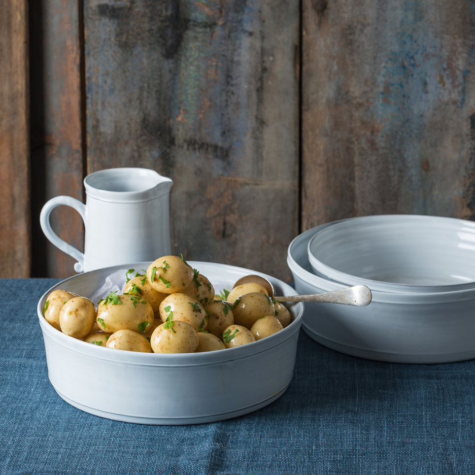 Provencal white oven to table dishes french ceramics