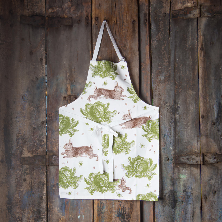 Thornback and Peel rabbit and cabbage apron
