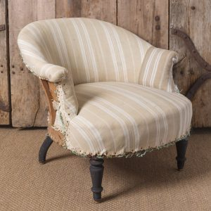 Antique French bedroom chair